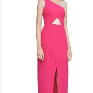 🌸BCBG MAXAZRIA HOT PINK DRESS
